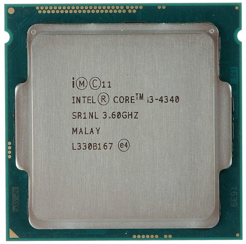 INTEL CORE I3 4340 (4 MB ქეშ მეხსიერება, 3.6 GHZ) TRAY