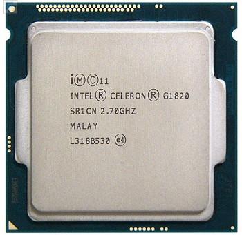 INTEL CELERON G1820 (2 MB ქეშ მეხსიერება, 2.7 GHZ) TRAY