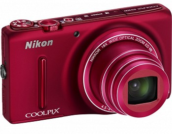 NIKON COOLPIX S9400 RED