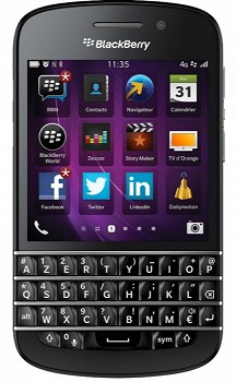 BLACKBERRY Q10 (AZERTY) 16GB BLACK
