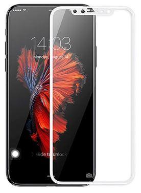 ეკრანის დამცავი GLASS PRO+ TEMPERED GLASS APPLE IPHONE XS WHITE