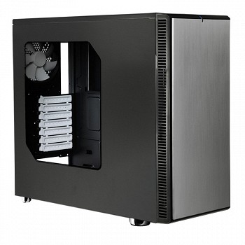 FRACTAL DESIGN DEFINE R4 TITANIUM GREY - WINDOW (FD-CA-DEF-R4-TI-W) GREY