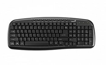 GENIUS KB-M225 BLACK