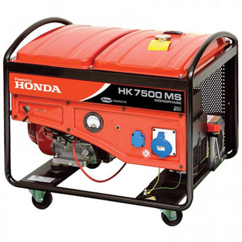HONDA GASOLINE GENSET HK 7500 M/MS