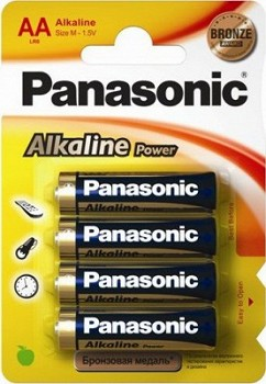 PANASONIC ALKALINE POWER (LR6REB/4BP)