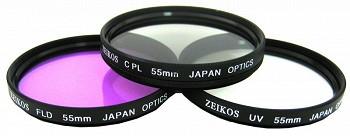 ZEIKOS ZE-FLK55 55 MM (UV-CPL-FLD)