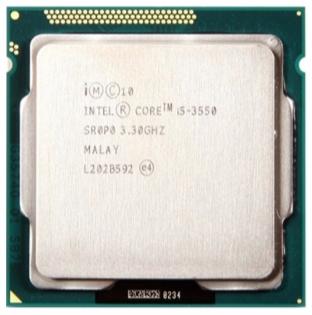 INTEL CORE I5 3550 (6 MB ქეშ მეხსიერება, 3.3 GHZ) TRAY