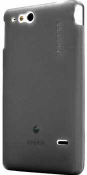 CAPDASE COVER XPOSE SONY GO ST27i GREY